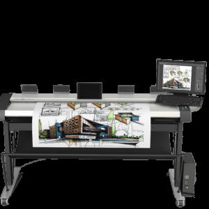 Dòng máy scan khổ lớn Contex - HD Ultra X